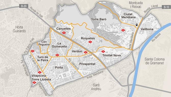 Piso de alquiler en nou barris barcelona habitaclia - Pisos en nou barris ...