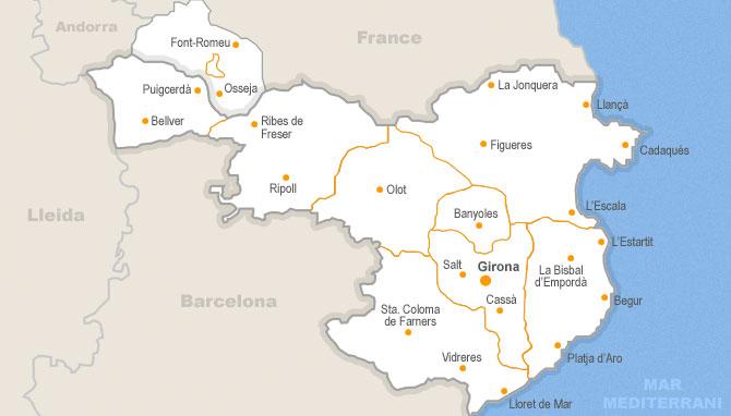 Pueblos De Gerona Mapa.8 323 Anuncios De Casa De Venta En Girona Habitaclia