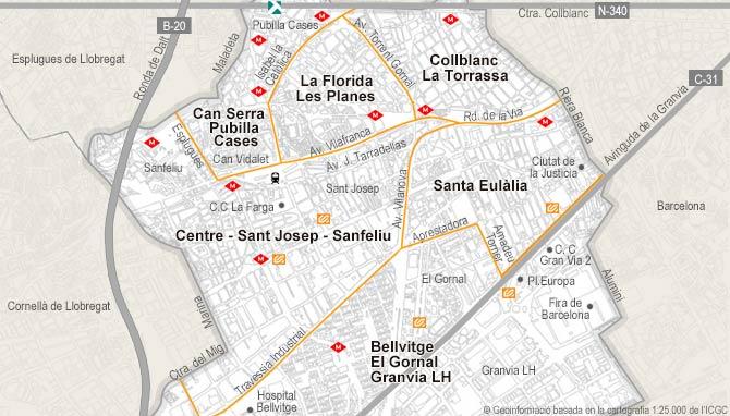 Unique Property Of Rent In Hospitalet De Llobregat L Habitaclia