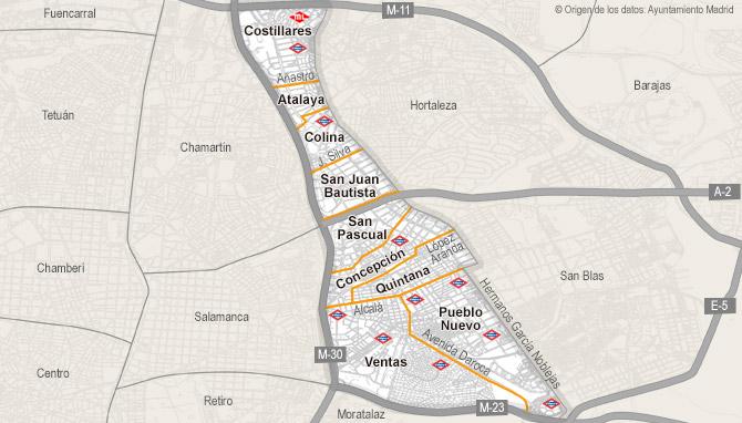 Ciudad Lineal Madrid Mapa.Atico De Venta En Ciudad Lineal Madrid Habitaclia