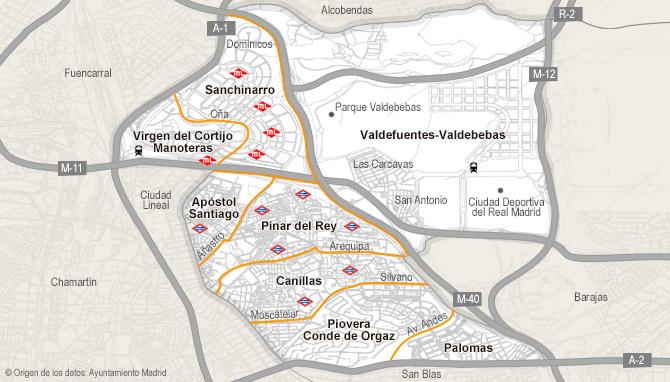 Barrio Hortaleza Madrid Mapa.Industrial De Venta En Hortaleza Madrid Habitaclia