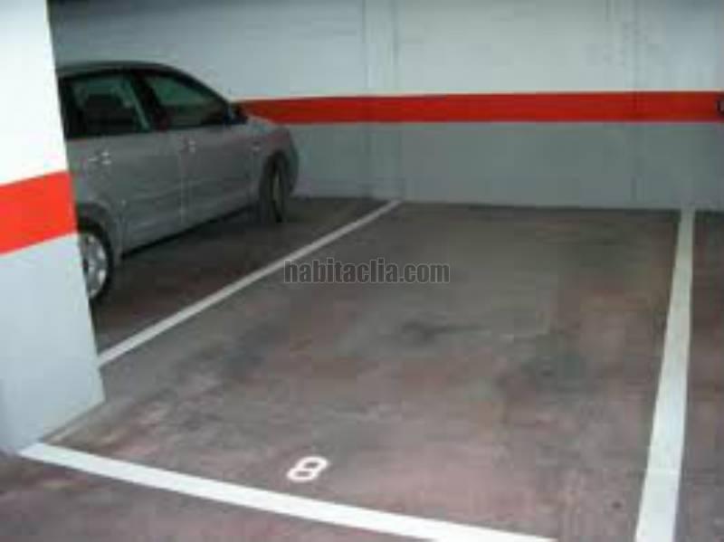Alquiler parking coche por 70 en la fe plaza de garaje en for Anuncio alquiler plaza garaje