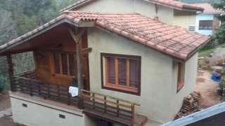 Alquiler Casa en Carrer pla de la calma,33. Casa de madera,vivir todo el año,huerto