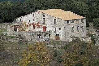 Finca rústica en Montaña de santa bàrbara, s/n. Masia la sala - 250 hectàrees
