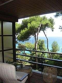 Piso en Carrer josep lluis sert,18. Apartamento romántico con vistas al mar