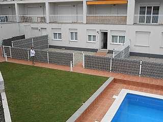 Apartamento en Carrer joanot martorell, 2. Magnifico bajo,con piscina comunitaria y terraza