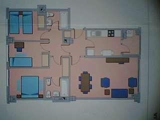 Alquiler Piso en Avenida juan carlos i, 7. Alquilo piso tres dormitorios en la garena ,