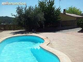 Alquiler Casa en Avinguda tibidabo, 28. Casa con piscina y barbacoa
