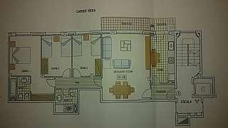 Alquiler Piso en Carrer riera, 128. Piso a estrenar. amplio salon y cocina. suite