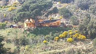 Lloguer Casa a Riera capaspre, s/n. Casa en finca r�stica amb vistas al mar,