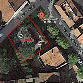 Terreno residencial en Carretera premià de mar, 135. Terreny pla de 300m2 al centre de Premià de Dalt.