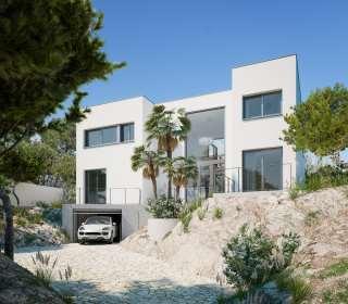 Casa en Urbanització vinyals zona a, 25. Obra nueva sitges
