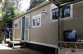 Mòdul de camping a Carretera Gualba a la batlloria, sn. Bungalow más parcela propiedad camping Gualba