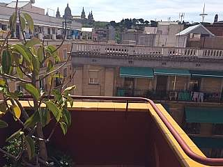 Alquiler Ático en Carrer sant fructuos, 20. Espectacular ático con terraza y piscina