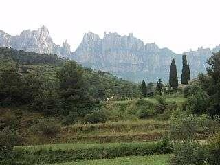 Terreny residencial  Urb. mas enric, c/ d´en calsina, 302. Terreno soleado, muy buenas vistas a montserrat