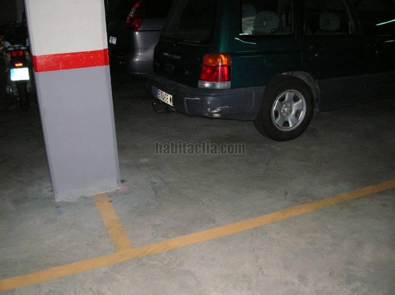 Parking coche por de 16 metros passeig taulat - Comprar parking en barcelona ...